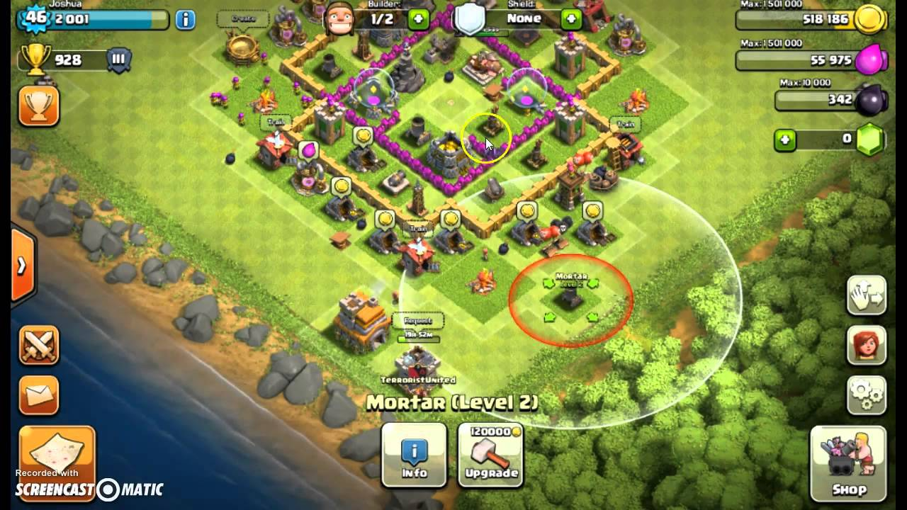 clash of clans how to get your barbarian king