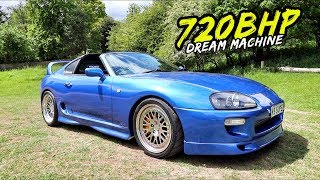 SAVAGE AEROTOP *720BHP SINGLE TURBO TOYOTA SUPRA*