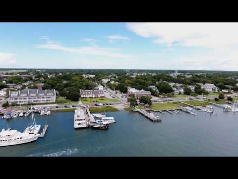 Trip to Beaufort North Carolina Phantom 4 DJI Drone