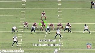 Film Room: Jarran Reed's Rookie Development | Seattle Seahawks (NFL Breakdowns Ep 72)