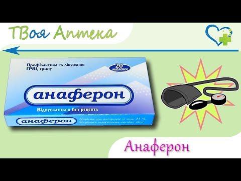 Анаферон таблетки - показания, видео инструкция, описание, отзывы