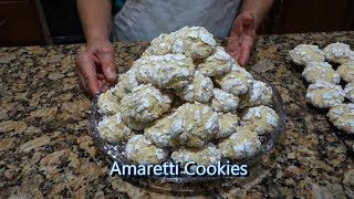 Italian Grandma Makes Amaretti Cookies