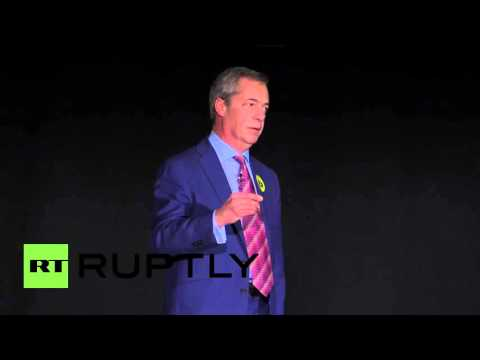 UK: Farage launches cross-party Brexit platform