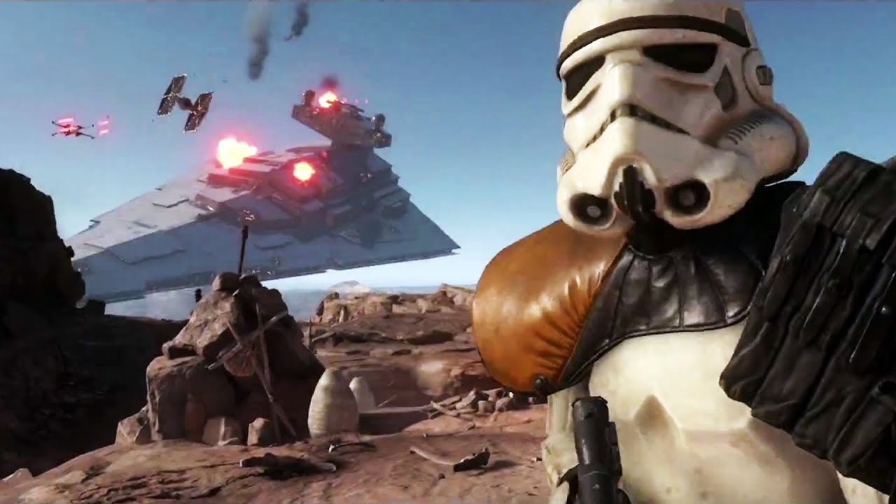 Star Wars Battlefront Trailer E3 2015 Youtube