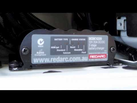 Redarc Bcdc Charger Wiring Diagram Advance Mark 10 Dimming Ballast Review Of S In Vehicle Chargers Youtube