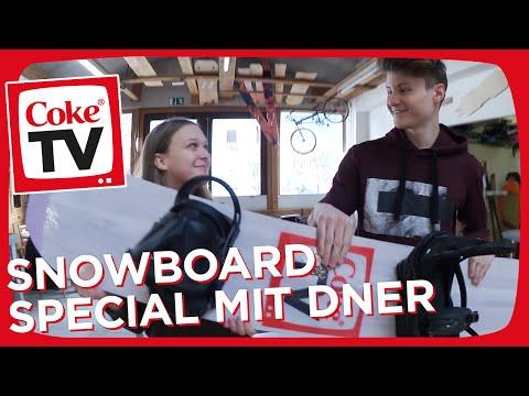 Dner und Maike bauen das CokeTV Snowboard | #CokeTVMoment