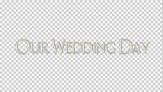 Свадебная надпись 6.1(англ яз)