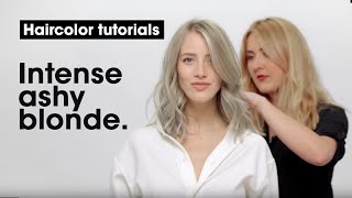 How to do an Intense Ashy Blonde? By Grace Dalgleish | L'Oréal Professionnel Tutorials