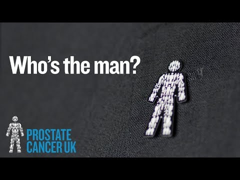 Who's the man? | Prostate Cancer UK's iconic badge