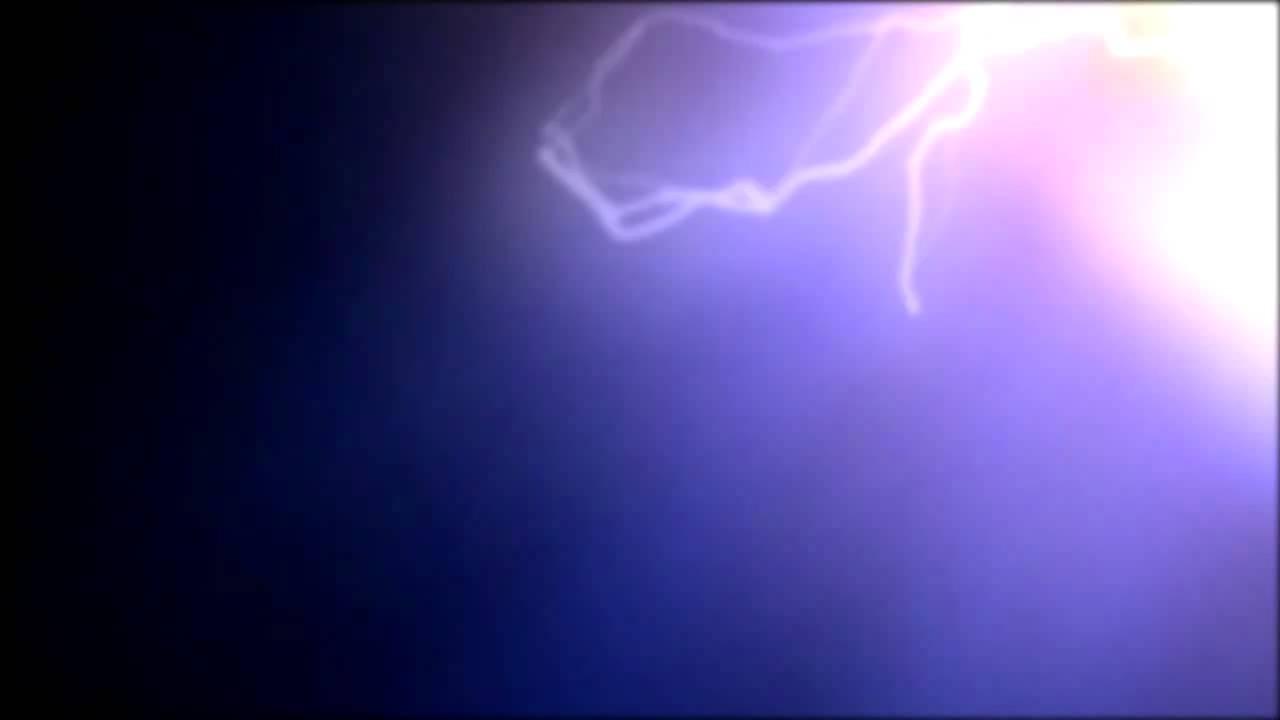 lightning animation Video Background - YouTube
