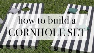 How To Build a Cornhole Set: DIY Tutorial