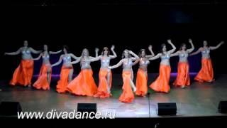 Радужное настроение Танец живота Bellydance от Дива данс восточные танцы