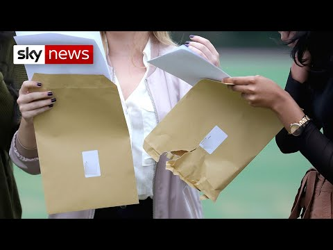 Sky News: BREAKING: 280,000 A-level results downgraded