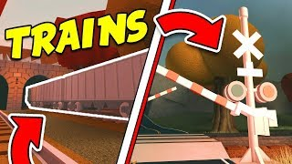 More Secret Jailbreak Trains, Train Signals, and Cars!! Asimo3089 Secret Roblox Games!?