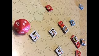 Great Battles of Alexander - GMT Games Battle of Mantinea Part 1