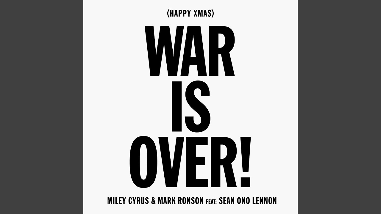 Listen To Miley Cyrus Cover Of John Lennon And Yoko Ono S Happy Xmas War Is Over