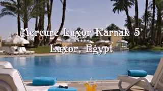 Mercure Luxor Karnak 5* Луксор, Египет(Отель Mercure Luxor Karnak 5* Луксор, Египет Роскошный курортный отель расположен у берегов реки Нил, в 12 км от аэропо..., 2015-09-19T09:23:37.000Z)