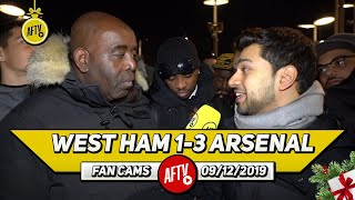 West Ham 1-3 Arsenal   Martinelli Worked His Socks Off! (Afzal)