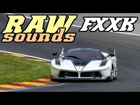 RAW sounds - Ferrari FXXK at Spa 2018