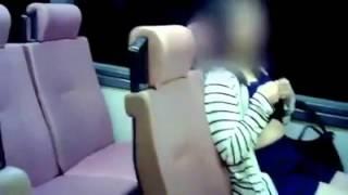 妹紙公車脫罩露奶給你看~~~