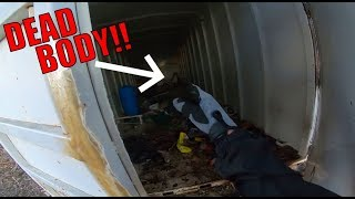 SHOULD HAVE NEVER OPENED THIS ABANDONED CONTAINER!