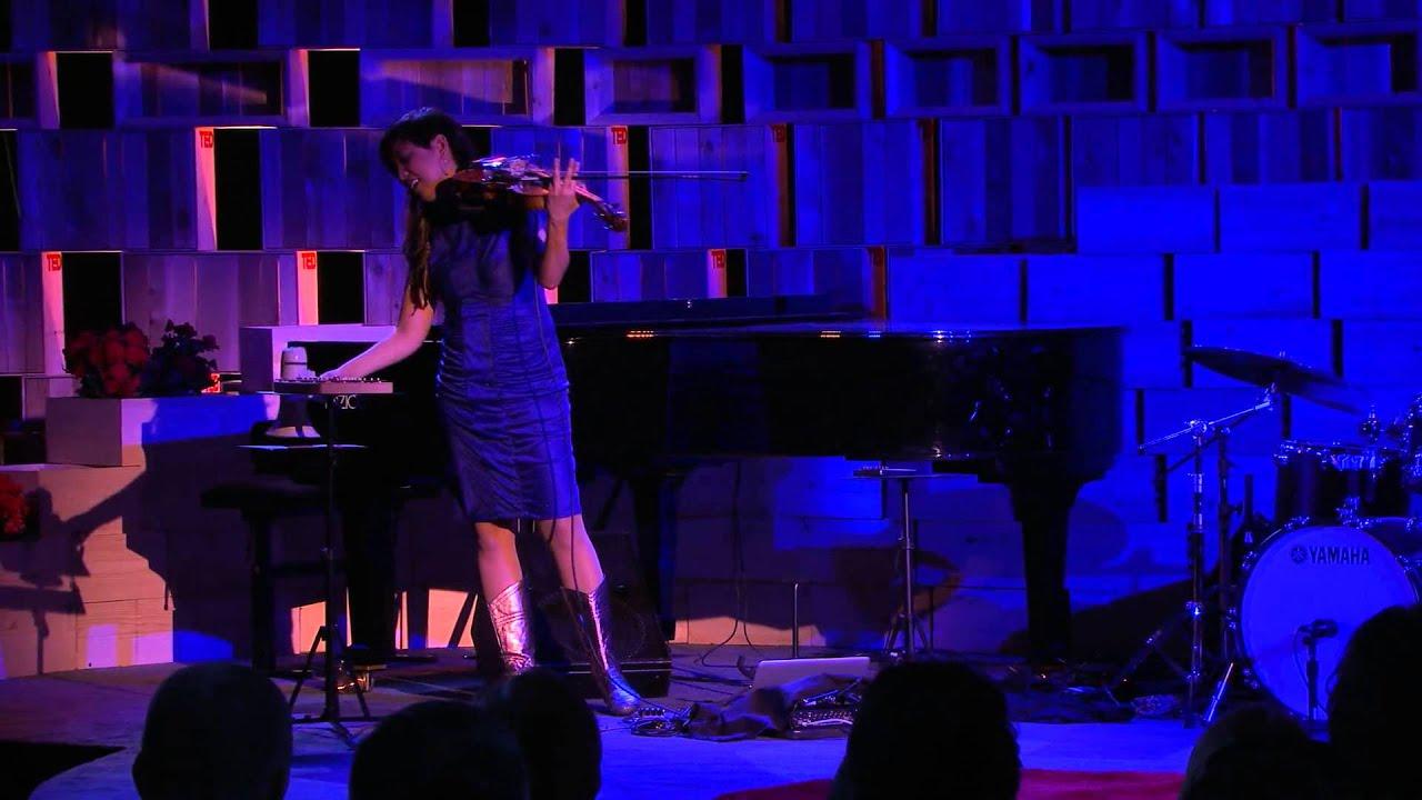 Bora Yoon performs at TED2014