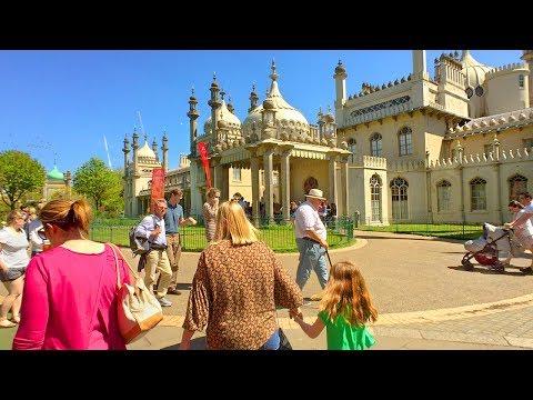 BRIGHTON WALK | The Royal Pavilion, Brighton Dome and Brighton Museum & Art Gallery | England