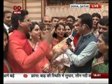 Members of Indian community excited to Welcome PM Modi in Doha, Qatar