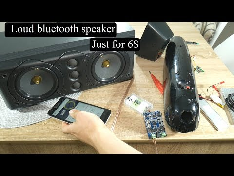 How to make loud Bluetooth speaker for just 6$ [Easy & cheap]