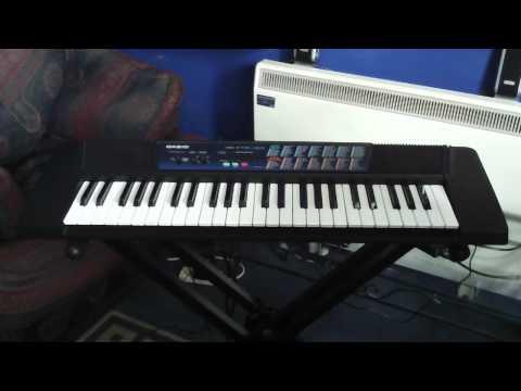 Casio CTK-120 Keyboard Demonstration Song