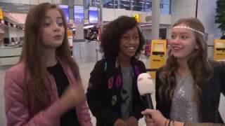 JSF meidengroep Kisses vertrekt naar Malta