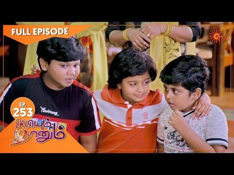 Abiyum Naanum - Ep 253   24 Aug 2021   Sun TV Serial   Tamil Serial