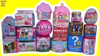 Toy Unboxing Surprises Num Noms LOL Smooshy Mushy Paw Patrol Surprise Toys Roblox MLP