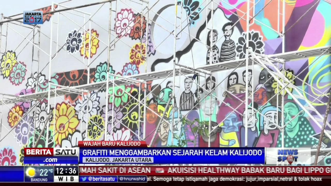 Seni mural percantik kawasan kalijodo goodjobinjakarta for Mural kalijodo