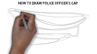 How To Draw Police Officer