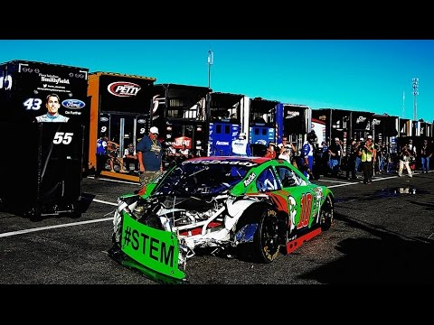 Danica Patrick wreck brings out red flag