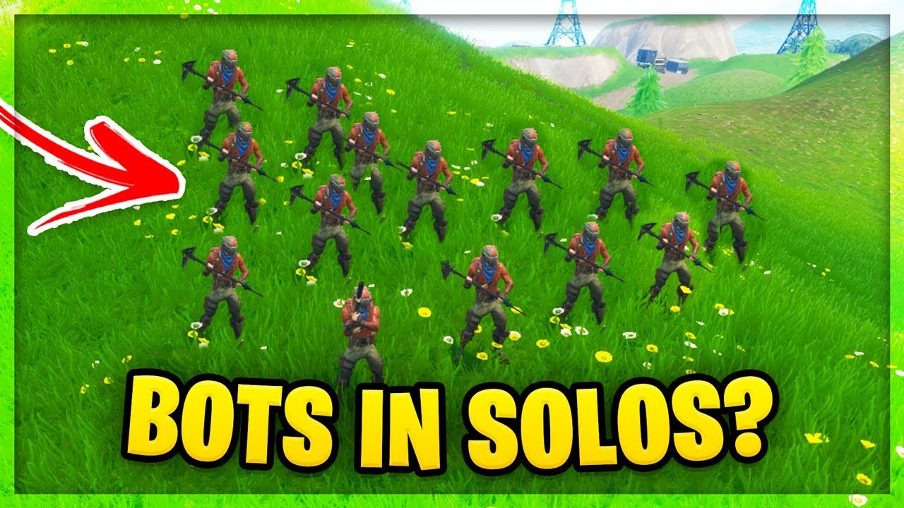 BOTS IN FORTNITE CONFIRMED!?