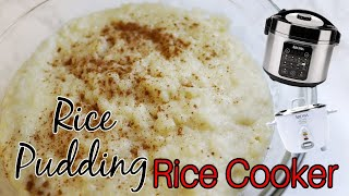 Rice pudding in the RICE COOKER I Lorentix