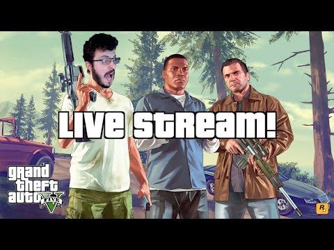 GTA V Live Stream!