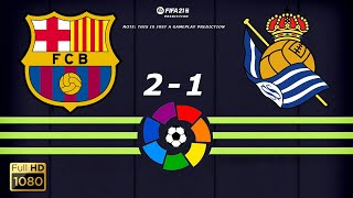 ... la liga 2020/21 is underway as barcelona fc ready to take on real sociedad. our te...
