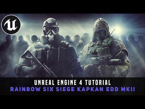 Unreal Engine 4 Tutorial - Kapkan's EDD MKII (Wall Claymore Trap Or Motion Sensor Trap)