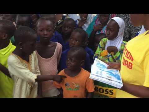 FONDATION BADIS DIAB : Distribution de fournitures scolaires au Ghana