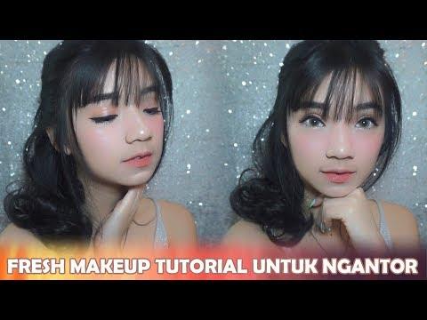TUTORIAL FRESH MAKEUP KE KANTOR SUPER GAMPANG  (bahasa indonesia) || THE YOLANDA