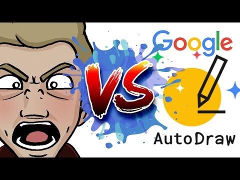 ARTIST Vs. AUTODRAW! - Head to Head with Google AI Art!