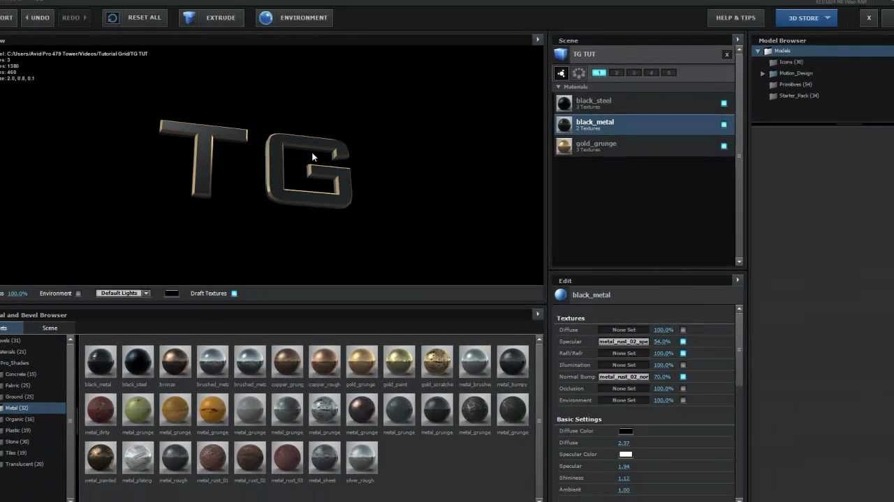 How to export from 3ds max 3d files to After Effects With Video Copilot  Element