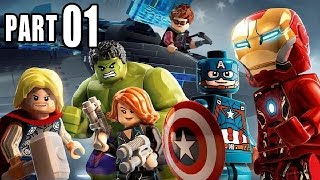 Let's Play Lego Marvel Avengers Deutsch Gameplay German PS4 Part 1 - Age of Ultron