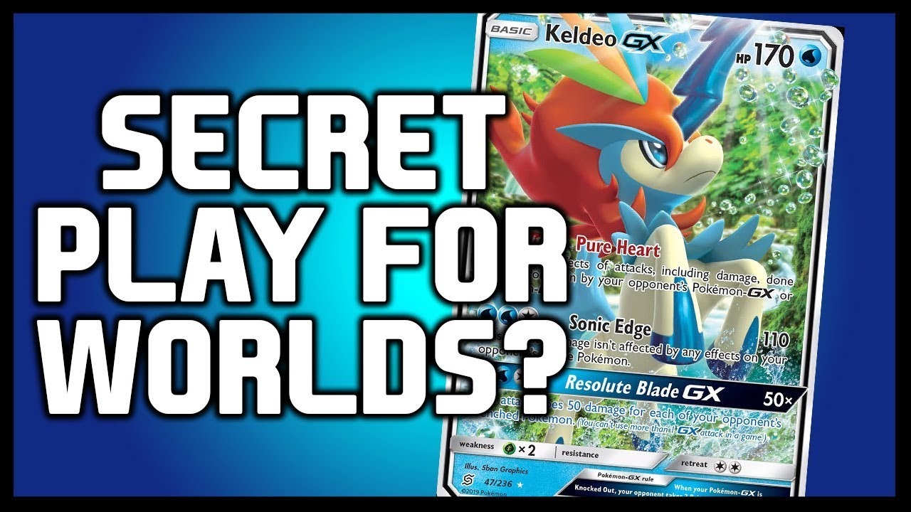 Is Keldeo GX the Secret Deck for the World Championships!?