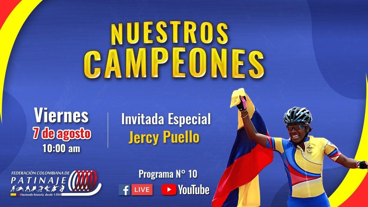 NUESTROS CAMPEONES No.10 - JERCY PUELLO