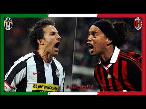 Serie A 2008-09, Juve - AC Milan (Full, RU) - YouTube