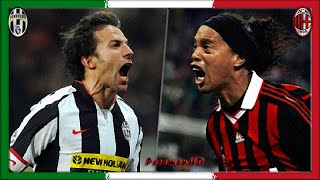 Serie A 2008-09, Juve - AC Milan (Full, RU)
